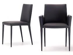 LEDERENSTOELEN_Lederen stoelen en armstoelen
